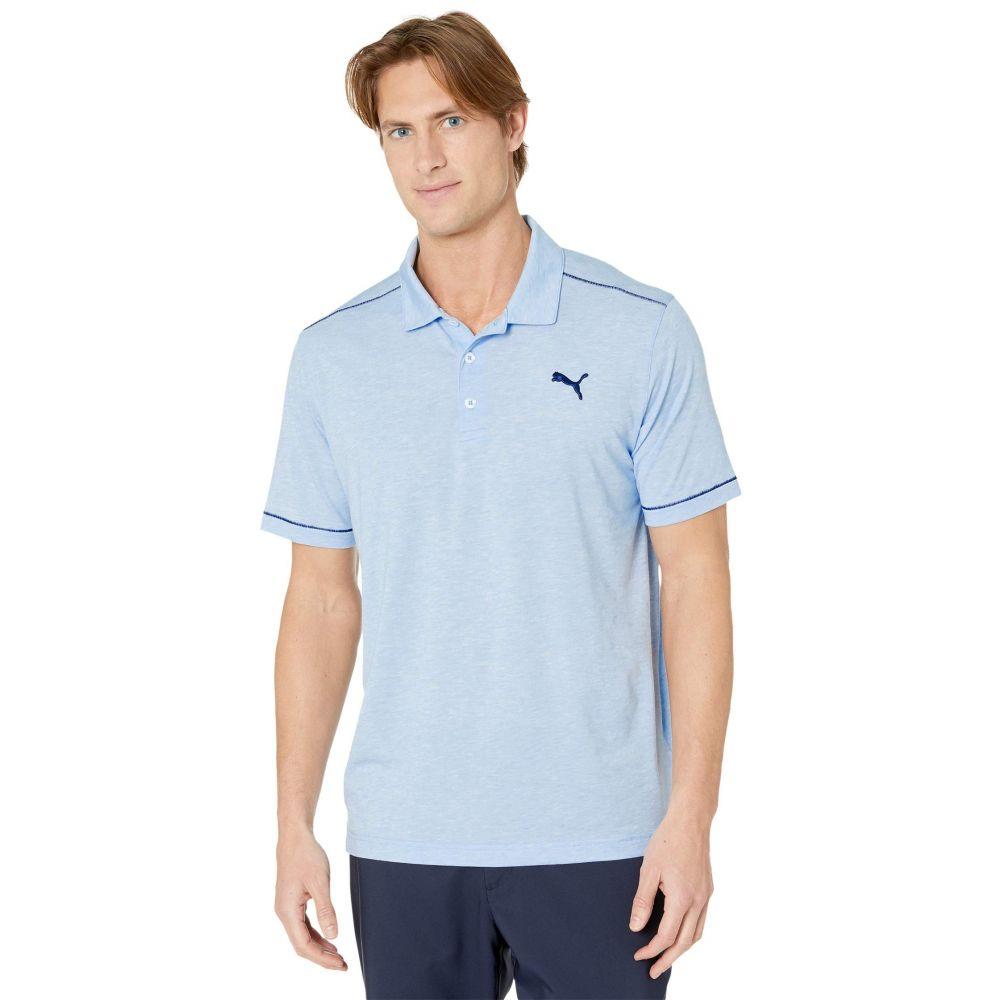 プーマ PUMA Golf メンズ ポロシャツ トップス【Rancho Polo】Blue Bell Heather