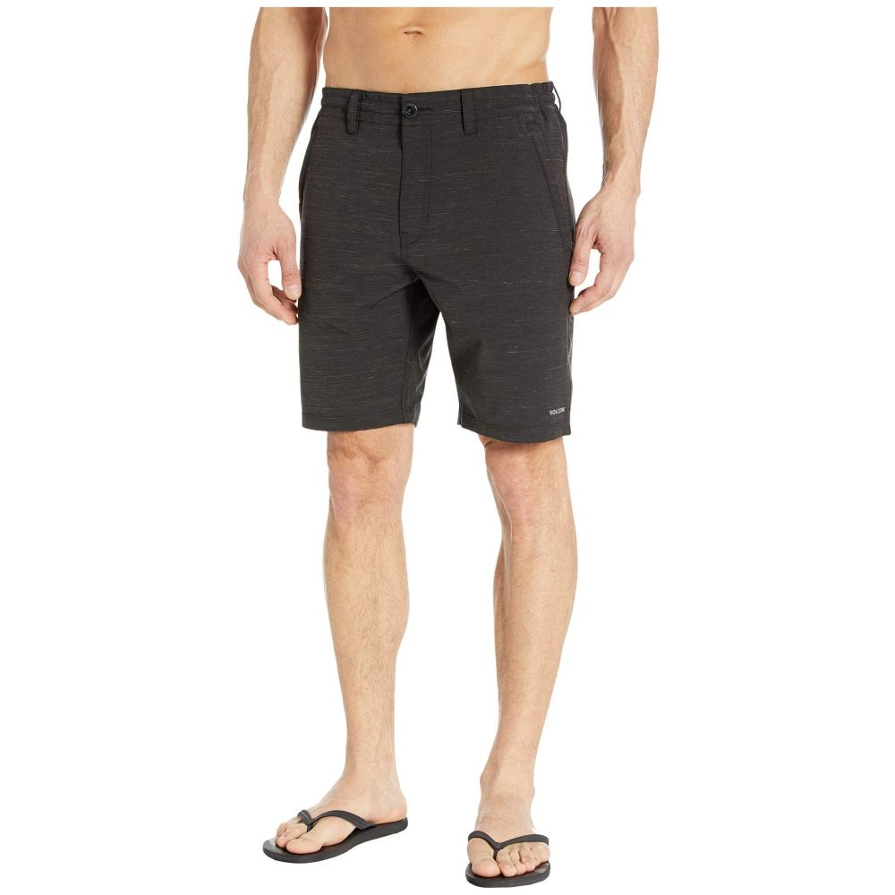 ボルコム Volcom メンズ ショートパンツ ボトムス・パンツ【Misunderstood 19' Shorts】Black