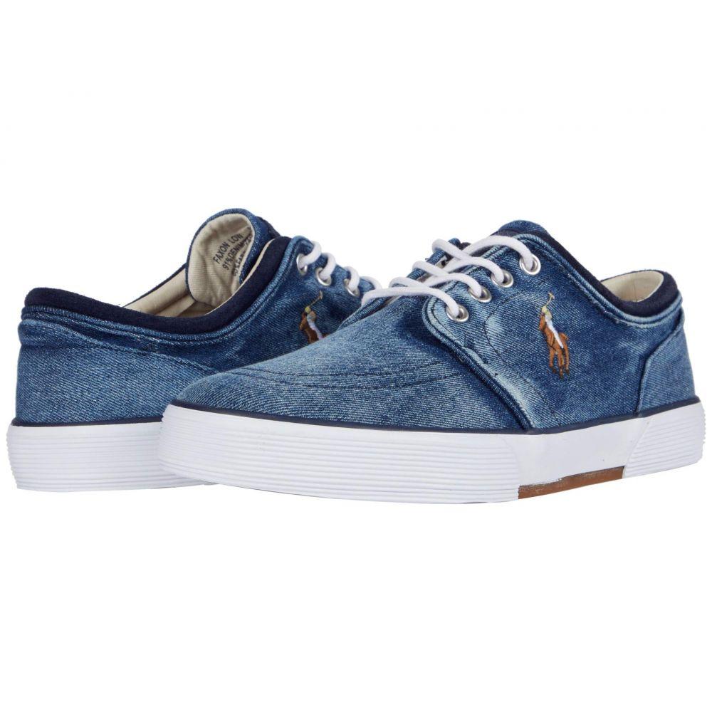 ラルフ ローレン Polo Ralph Lauren メンズ スニーカー シューズ・靴【Faxon Low】Dark Blue