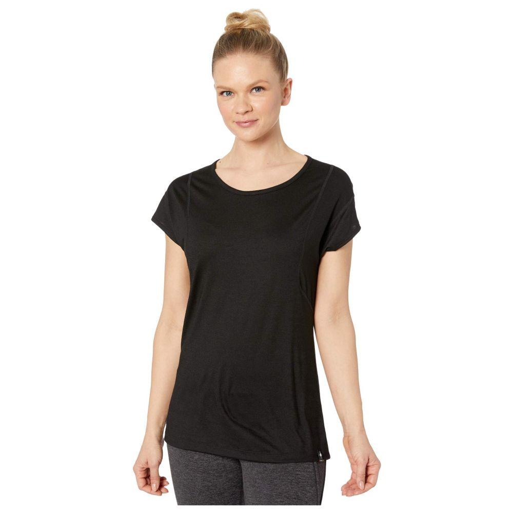 スマートウール Smartwool レディース Tシャツ トップス【Merino Sport 150 Short Sleeve】Black