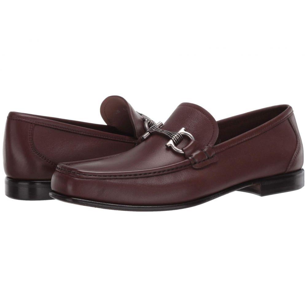 サルヴァトーレ フェラガモ Salvatore Ferragamo メンズ ローファー シューズ・靴【Swan Loafer】Chocolate