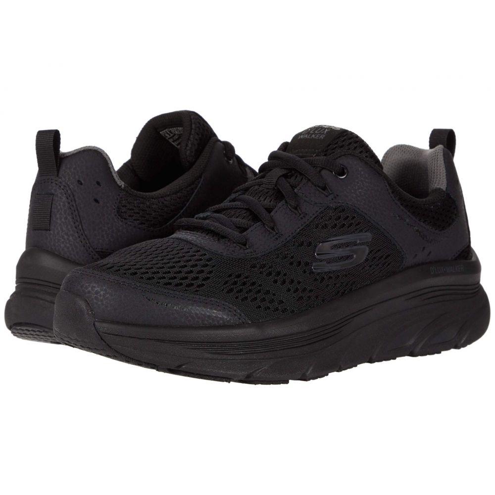 スケッチャーズ SKECHERS メンズ スニーカー シューズ・靴【D'Lux Walker】Black/Black