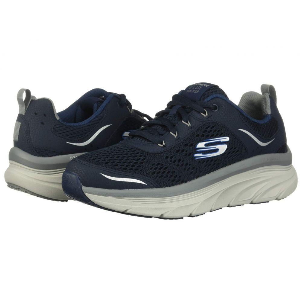 スケッチャーズ SKECHERS メンズ スニーカー シューズ・靴【D'Lux Walker】Navy/Gray