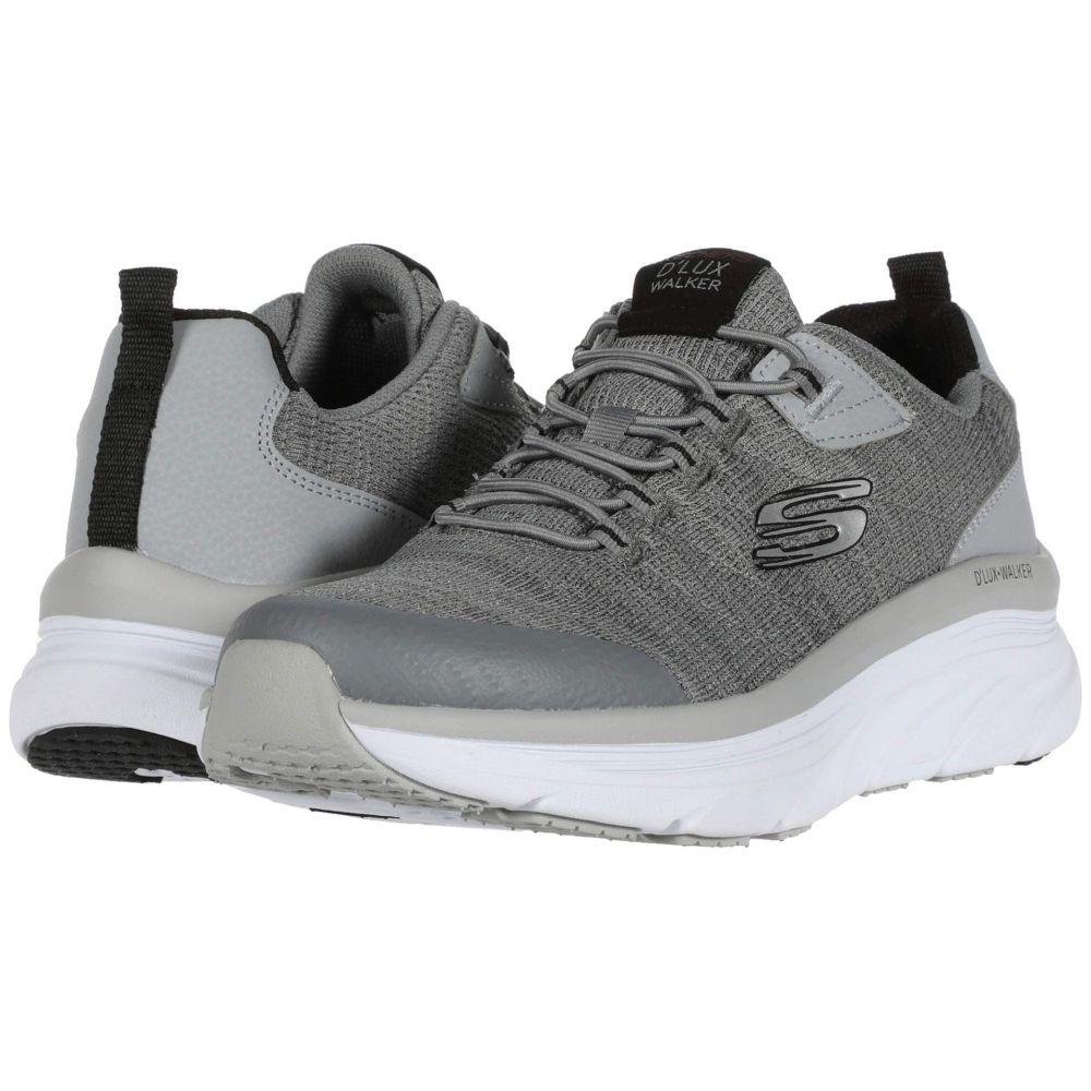 スケッチャーズ SKECHERS メンズ スニーカー シューズ・靴【D'Lux Walker Pensive】Gray/Black