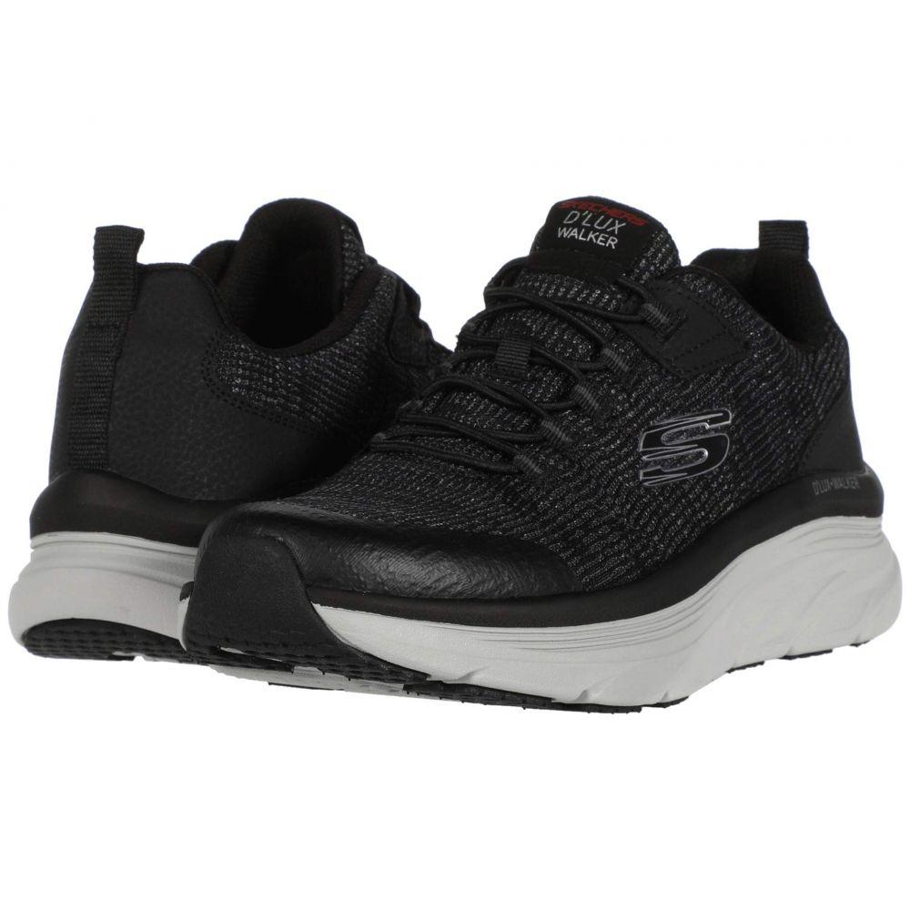 スケッチャーズ SKECHERS メンズ スニーカー シューズ・靴【D'Lux Walker Pensive】Black/White