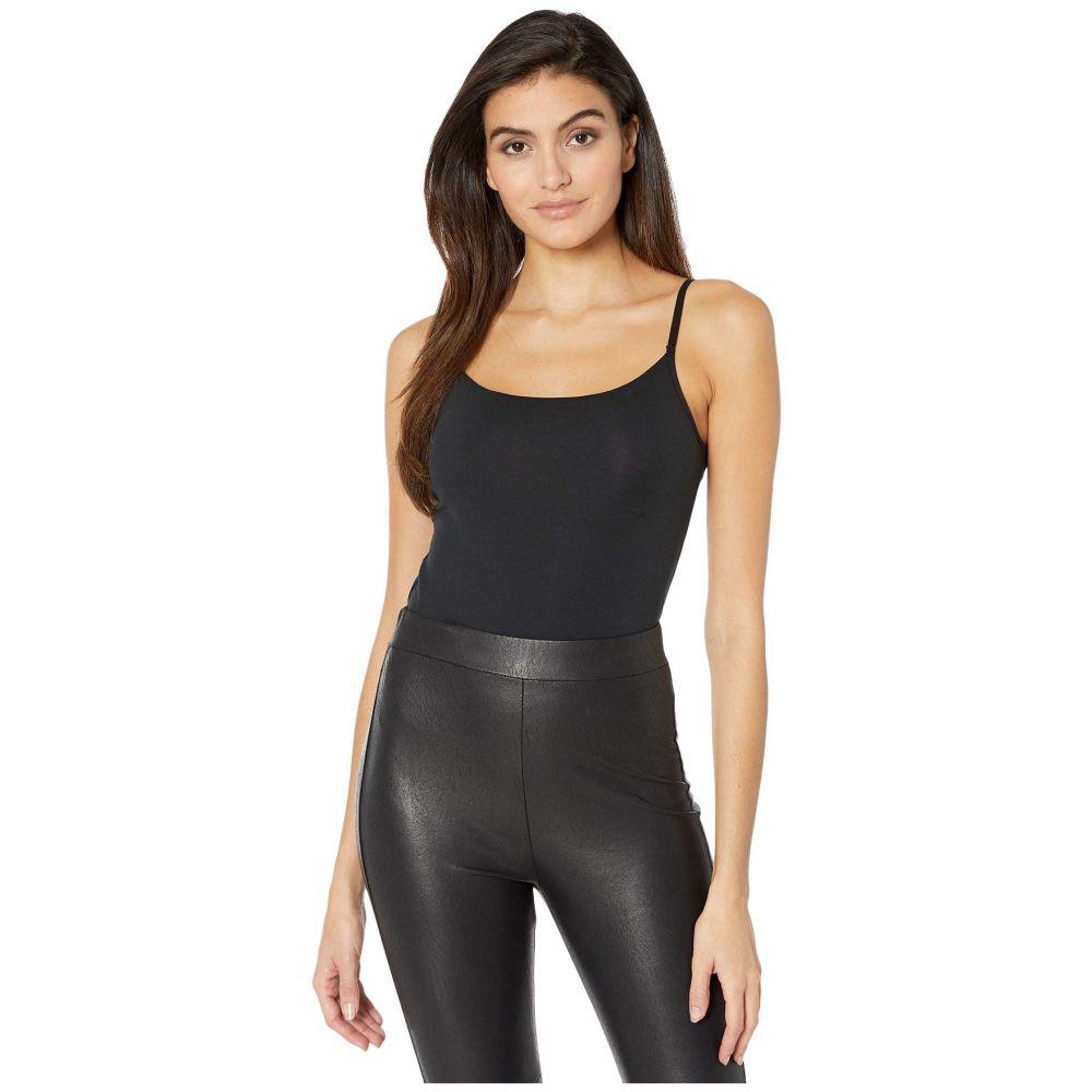 コマンドー Commando レディース ボディースーツ インナー・下着【Essential Cotton Underpinning Bodysuit BDS123】Black