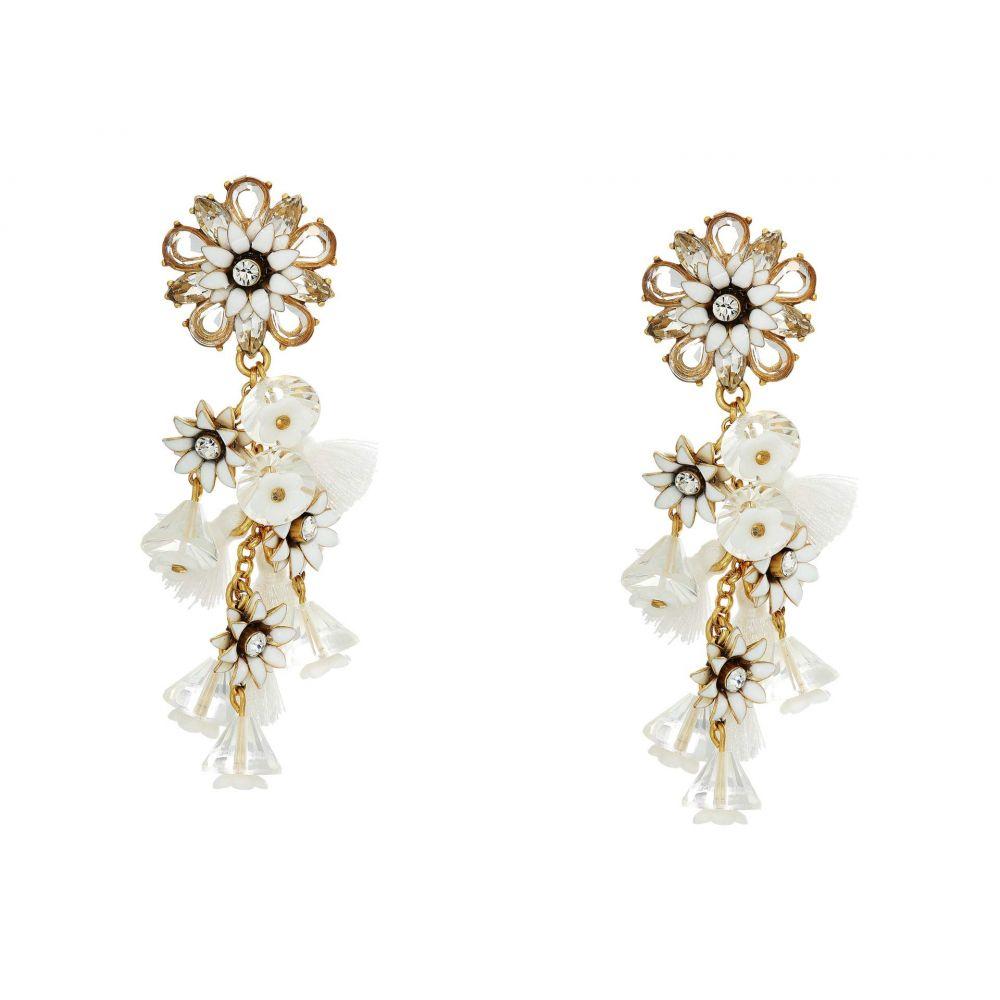 ジェイクルー J.Crew レディース イヤリング・ピアス ジュエリー・アクセサリー【Bloom Flower Statement Earrings】Crystal