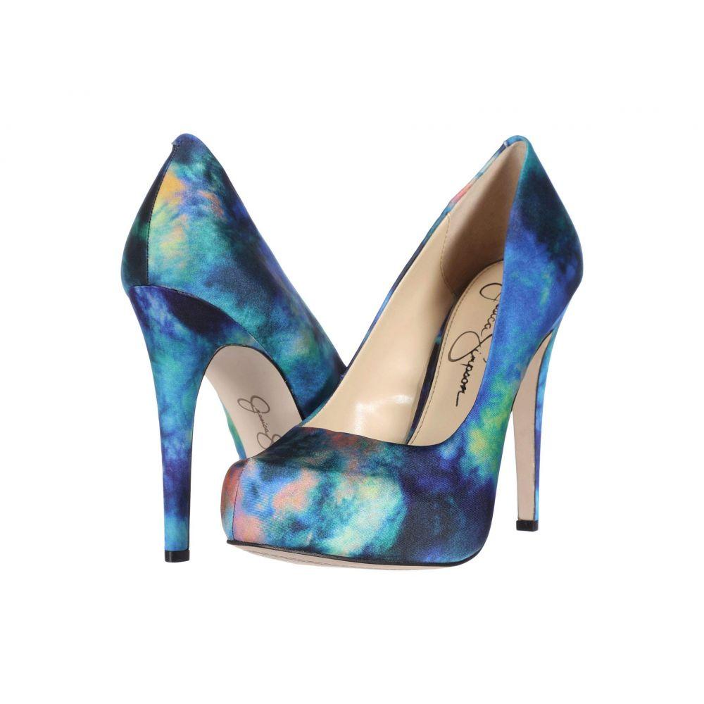 ジェシカシンプソン Jessica Simpson レディース ヒール シューズ・靴【Parisah】Blue Combo
