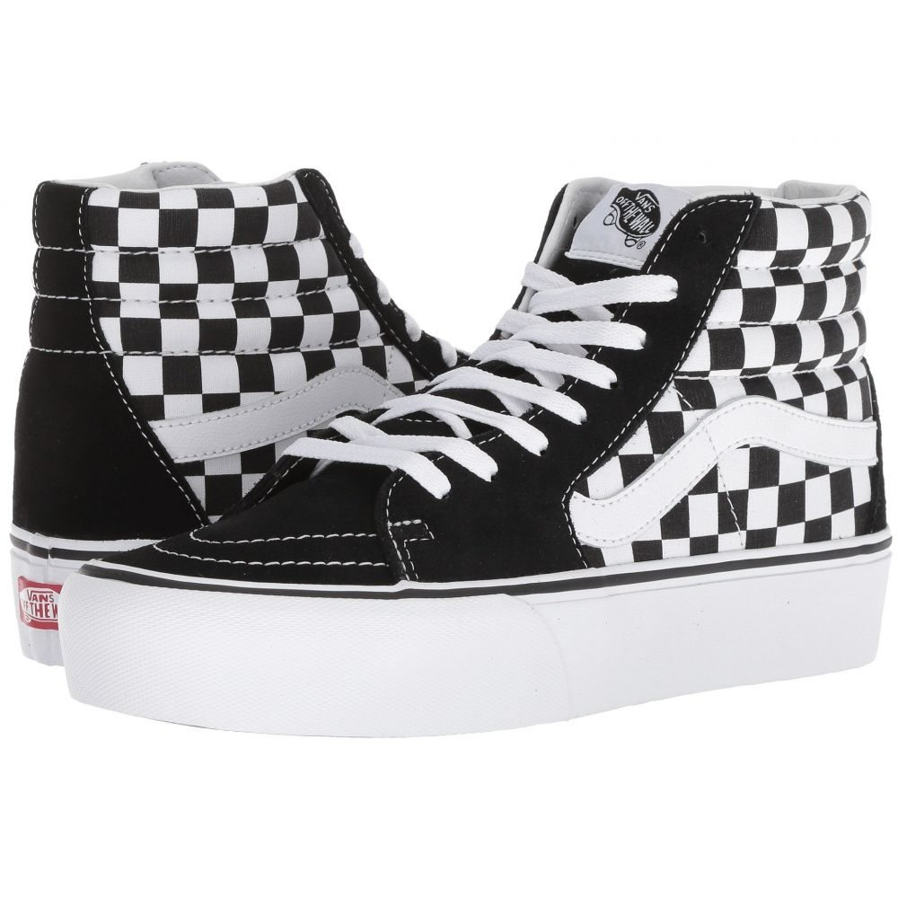 ヴァンズ Vans レディース シューズ・靴 【SK8-Hi Platform 2.0】Checkerboard/True White