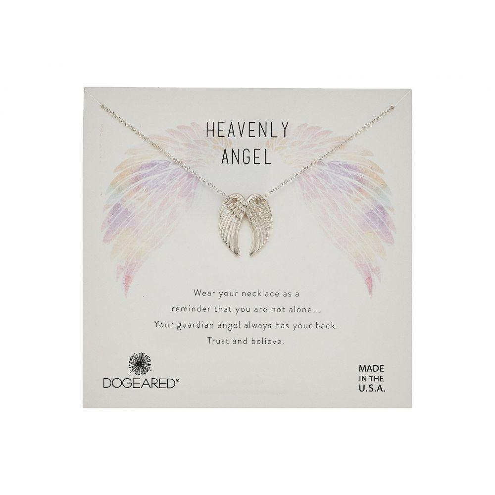 ドギャード Dogeared レディース ネックレス ジュエリー・アクセサリー【Heavenly Angel, Slide Through Angel Wing Necklace】Sterling Silver