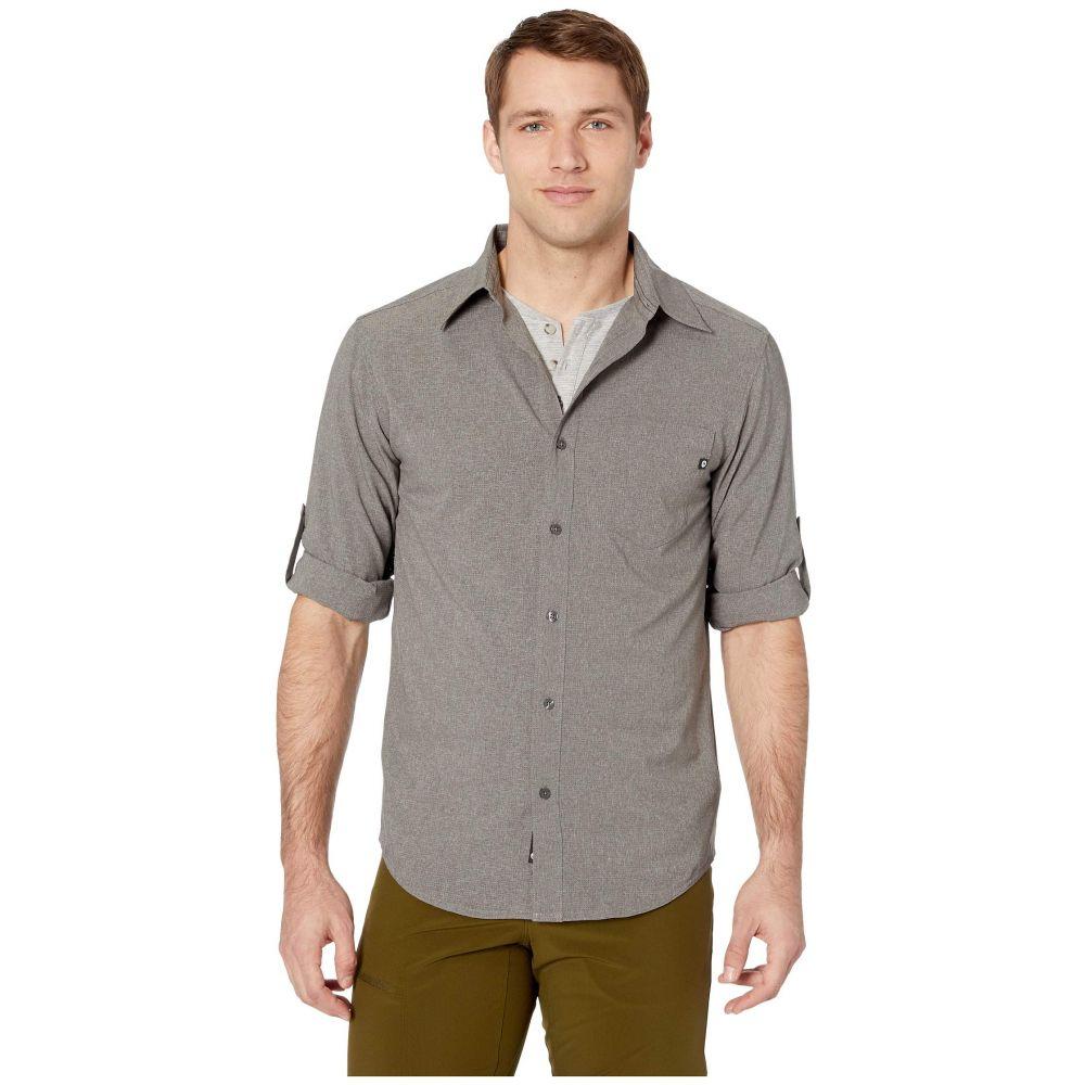 マーモット Marmot メンズ シャツ トップス【Aerobora Long Sleeve Shirt】Cinder