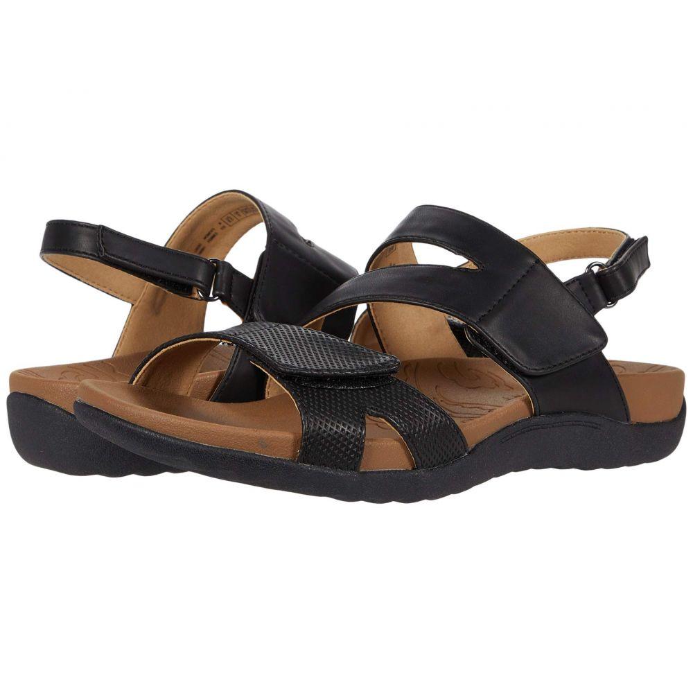 ロックポート Rockport レディース サンダル・ミュール シューズ・靴【Ridge Asymmetrical Strap】Black