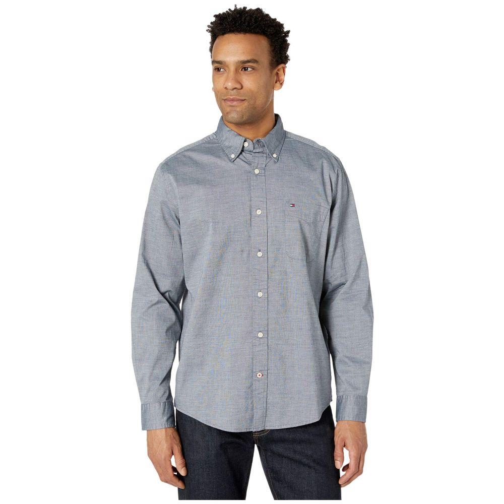 トミー ヒルフィガー Tommy Hilfiger メンズ シャツ トップス【Capote Stretch Shirt Long Sleeve】Sky Captain