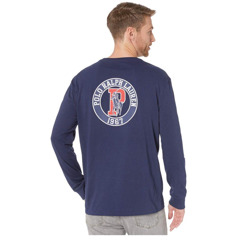 ラルフ ローレン Polo Ralph Lauren メンズ Tシャツ トップス【Classic Fit Graphic T-Shirt】Navy