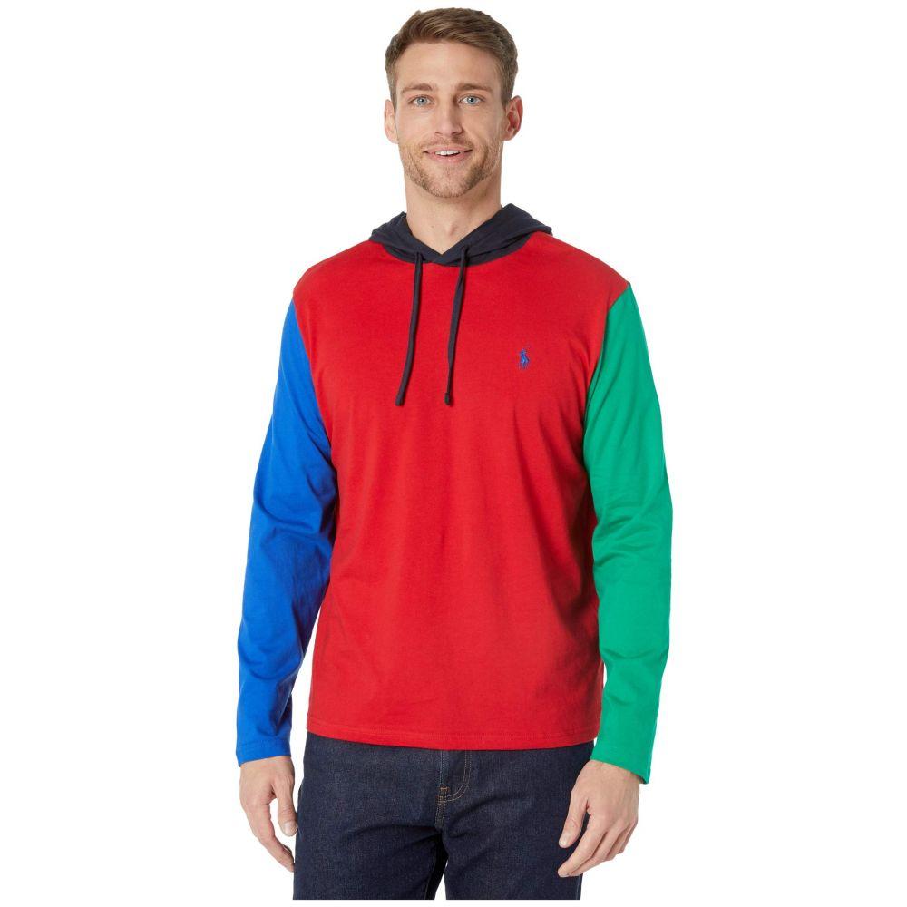 ラルフ ローレン Polo Ralph Lauren メンズ Tシャツ トップス【Hooded Mesh Tee】Red Multi