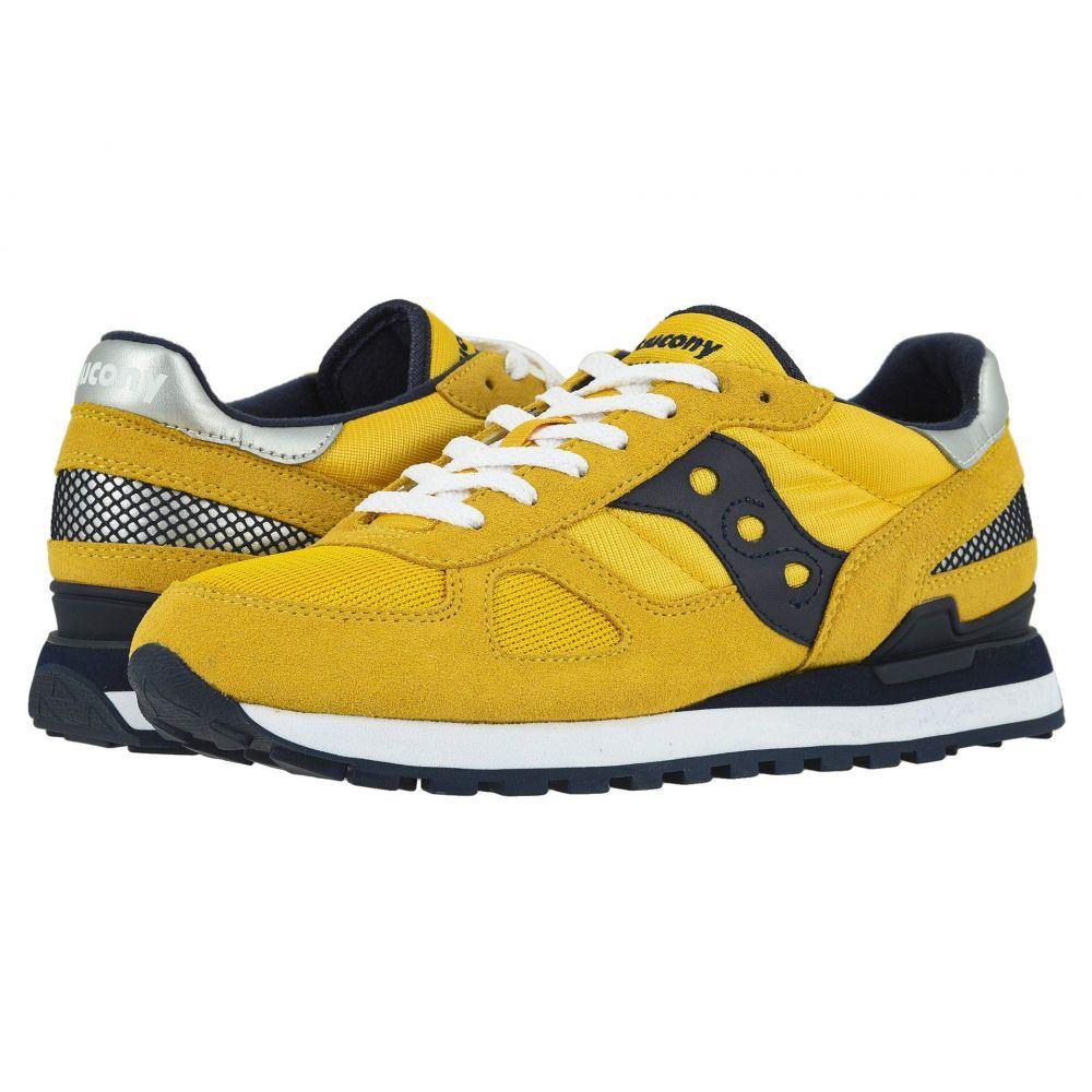 サッカニー Saucony Originals メンズ スニーカー シューズ・靴【Shadow Original】Yellow/Navy