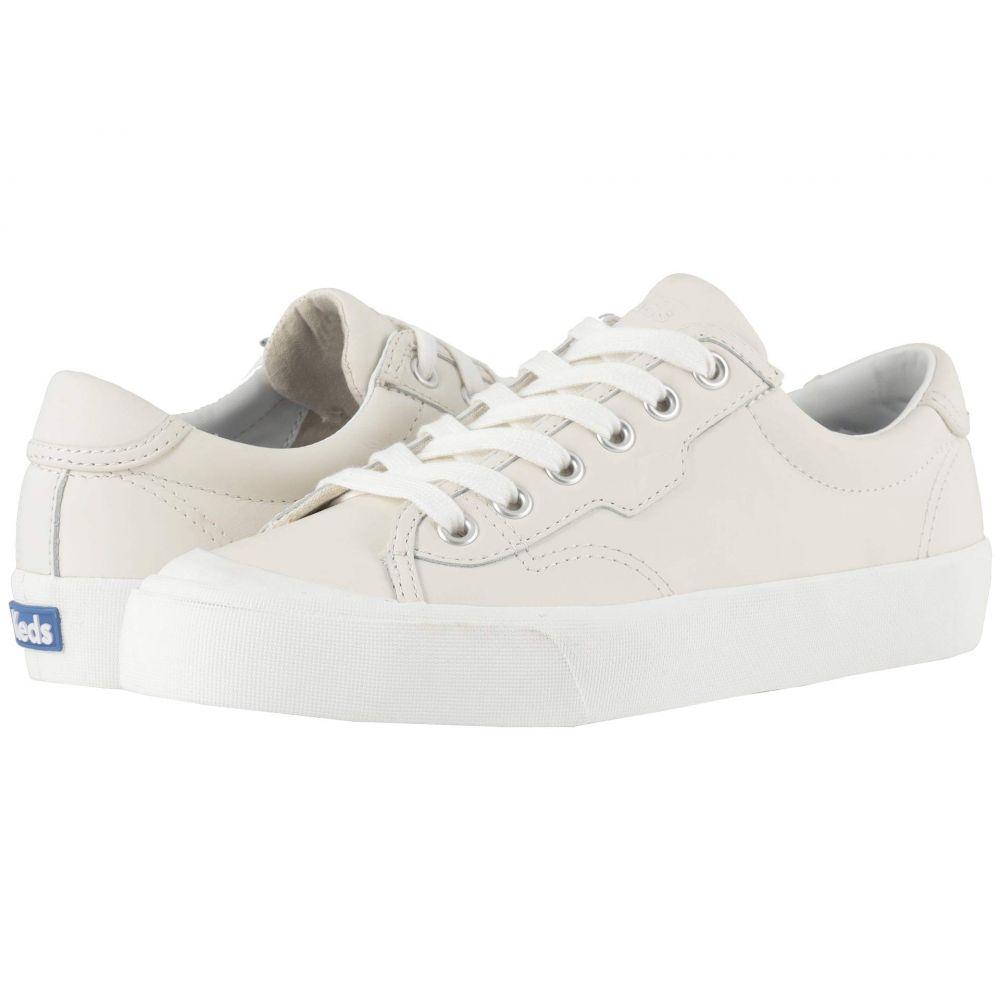 ケッズ Keds レディース スニーカー シューズ・靴【Crew Kick 75 Leather】White Leather
