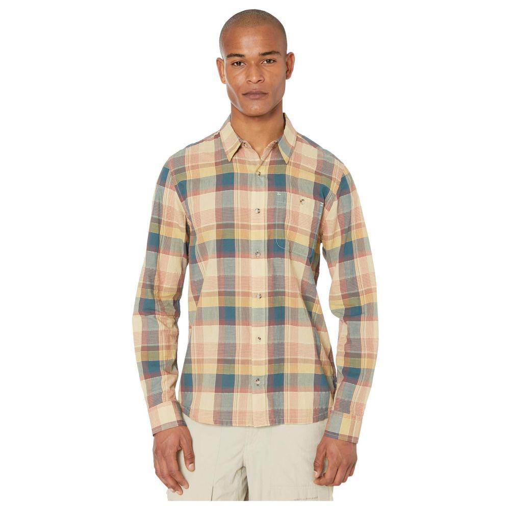 トードアンドコー Toad&Co メンズ シャツ トップス【Cuba Libre Long Sleeve Shirt】Desert