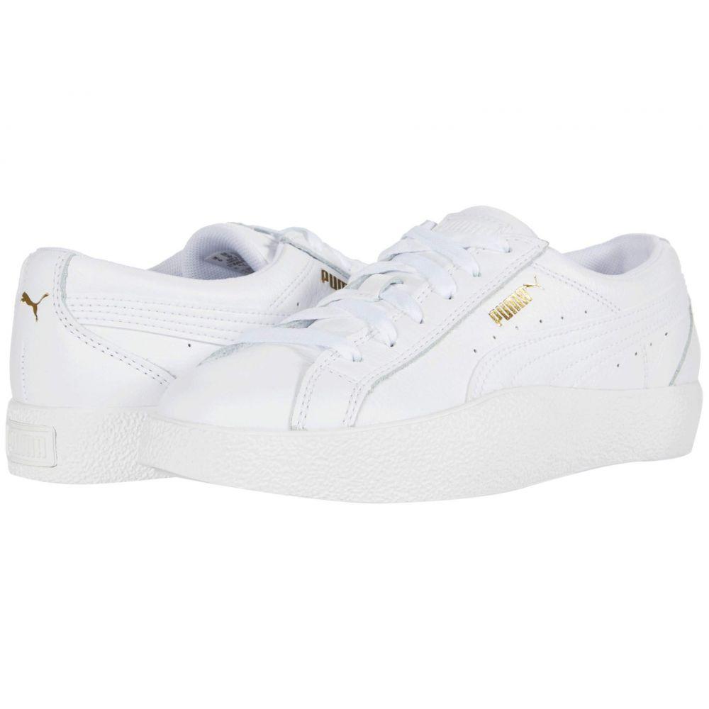 プーマ PUMA レディース シューズ・靴 【Love Tumble Leather】Puma White/Puma White/Puma White