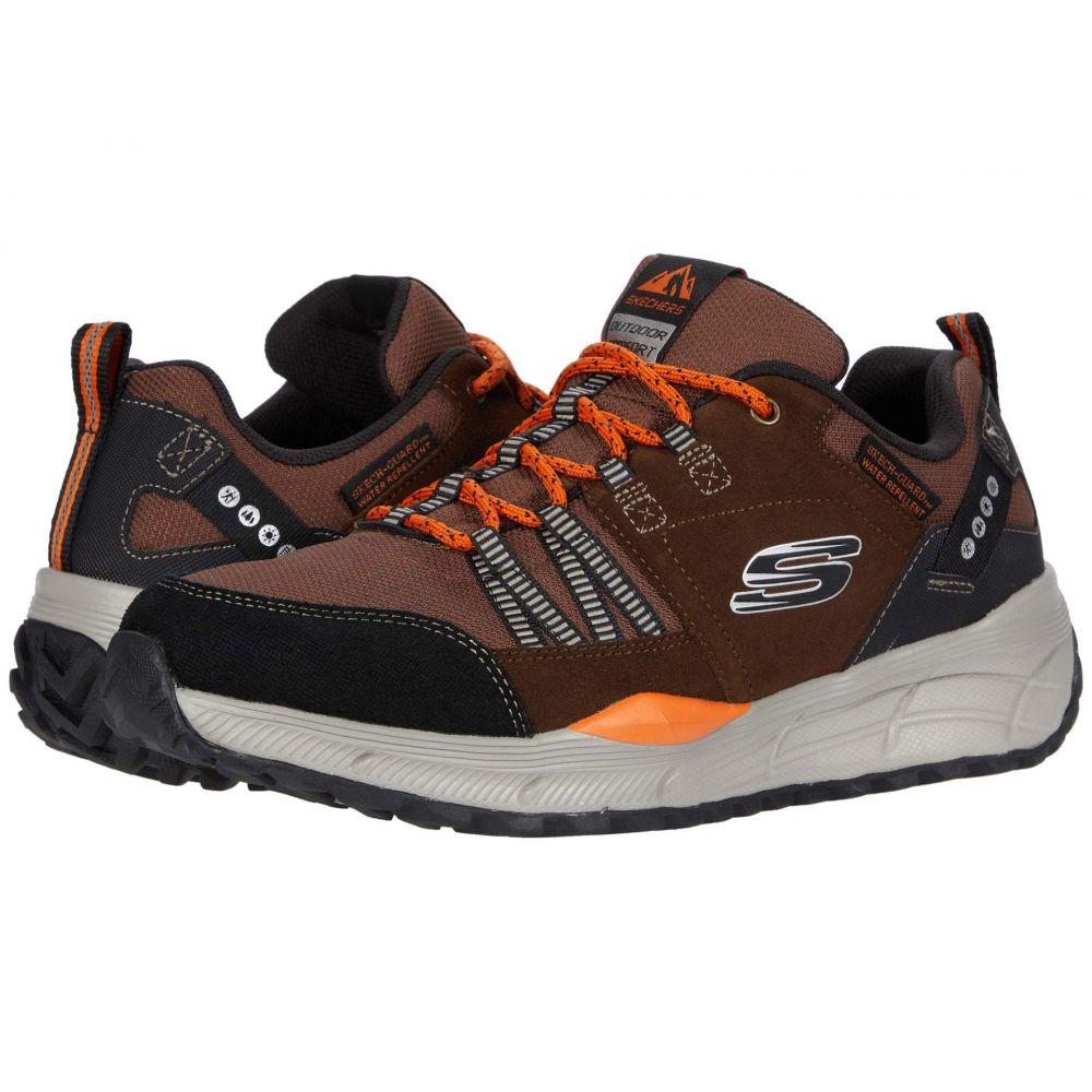 スケッチャーズ SKECHERS メンズ ランニング・ウォーキング シューズ・靴【Equalizer 4.0 Trail】Brown/Black
