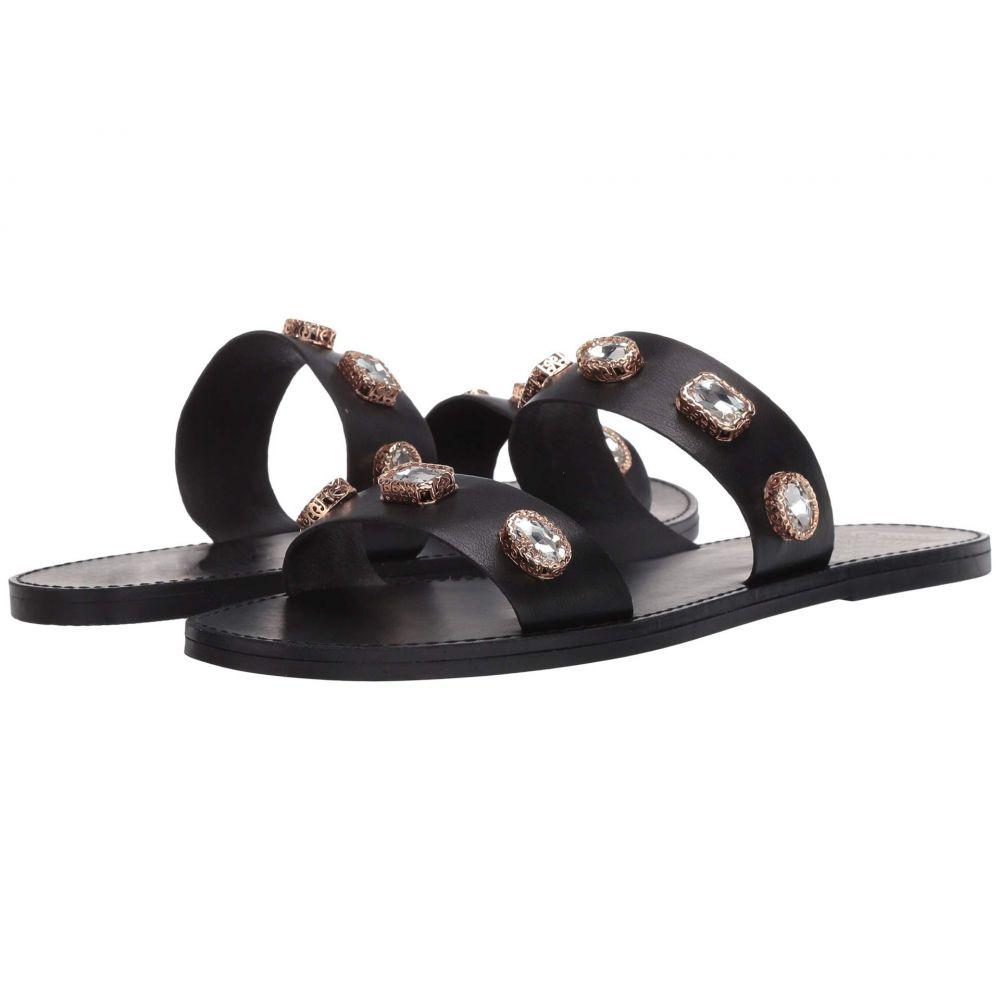 スティーブ マデン Steve Madden レディース サンダル・ミュール フラット シューズ・靴【Jace Flat Sandal】Black Multi
