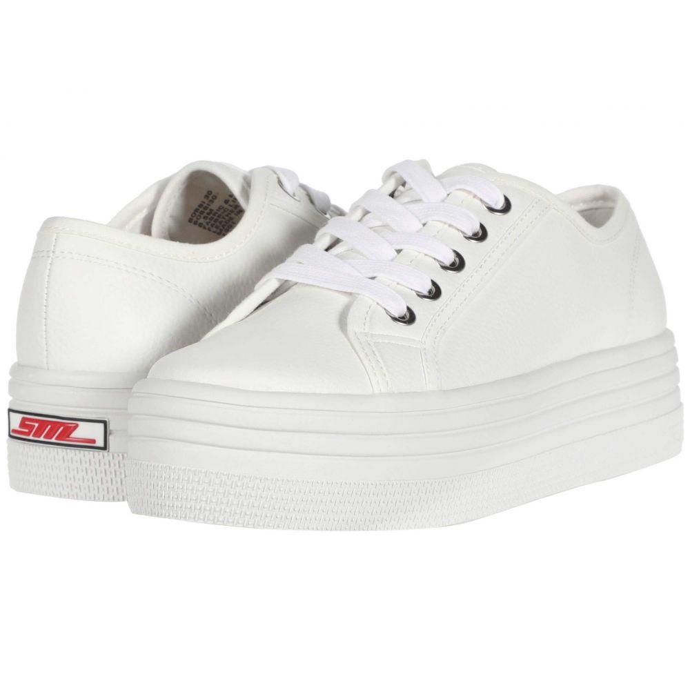 スティーブ マデン Steve Madden レディース スニーカー シューズ・靴【Bobbi 30 Sneaker】White