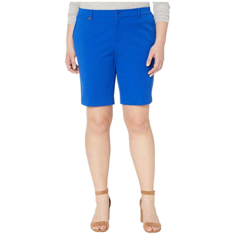 ラルフ ローレン LAUREN Ralph Lauren レディース ショートパンツ 大きいサイズ ボトムス・パンツ【Plus Size Bi-Stretch Twill Shorts】Blue Glacier