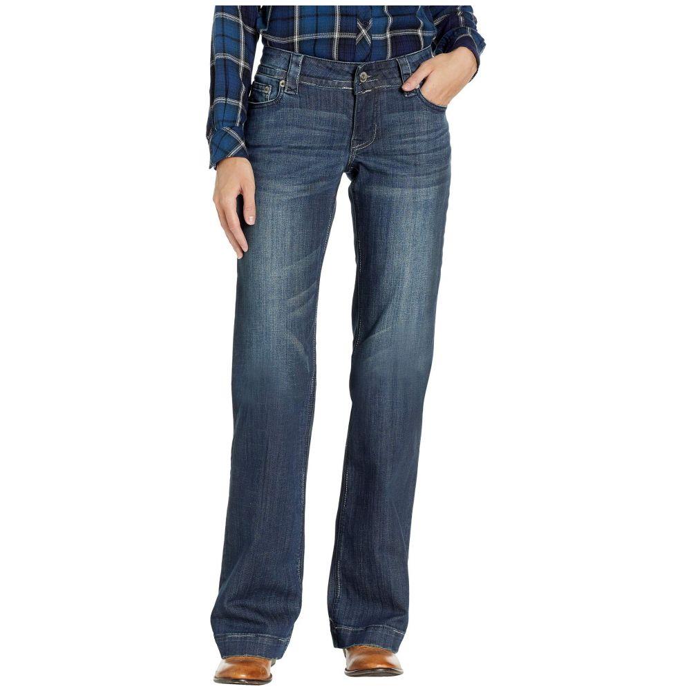 ステットソン Stetson レディース ボトムス・パンツ 【214 Fit Trousers】Blue