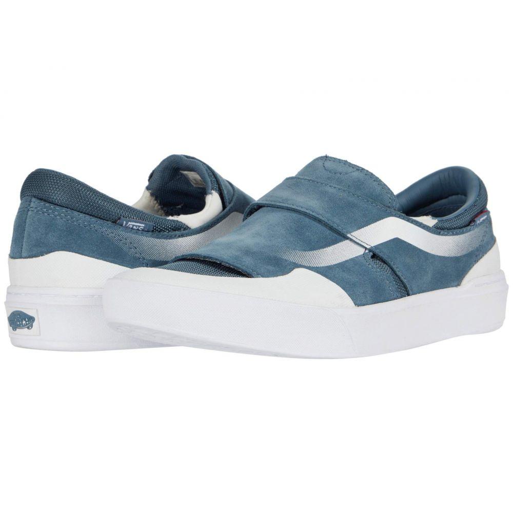 ヴァンズ Vans メンズ スリッポン・フラット シューズ・靴【Slip-On EXP Pro】Blue/White