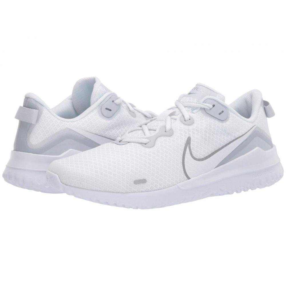 ナイキ Nike レディース ランニング・ウォーキング シューズ・靴【Renew Ride】White/Metallic Silver/Pure Platinum