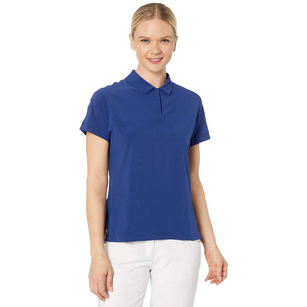 ナイキ Nike Golf レディース ポロシャツ 半袖 トップス【Flex Ace Short Sleeve Polo】Blue Void/Blue Void