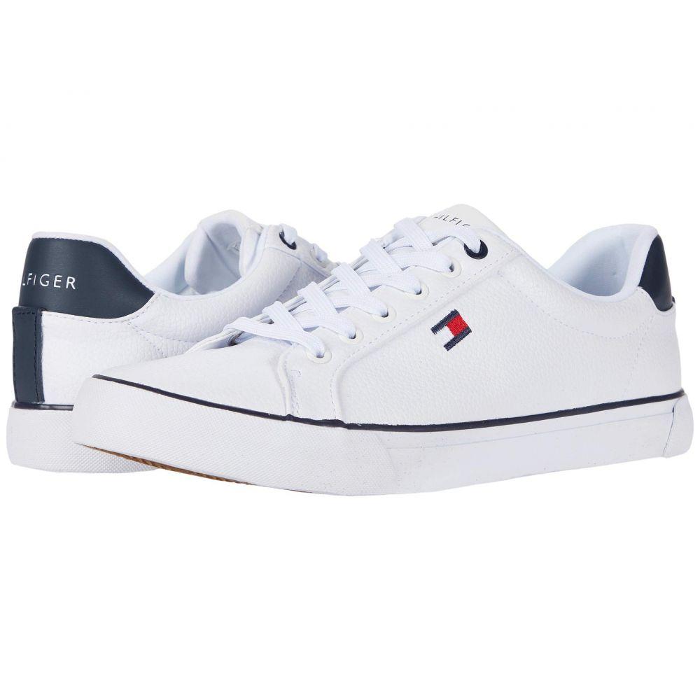 トミー ヒルフィガー Tommy Hilfiger レディース スニーカー シューズ・靴【Randal】White/Navy/White