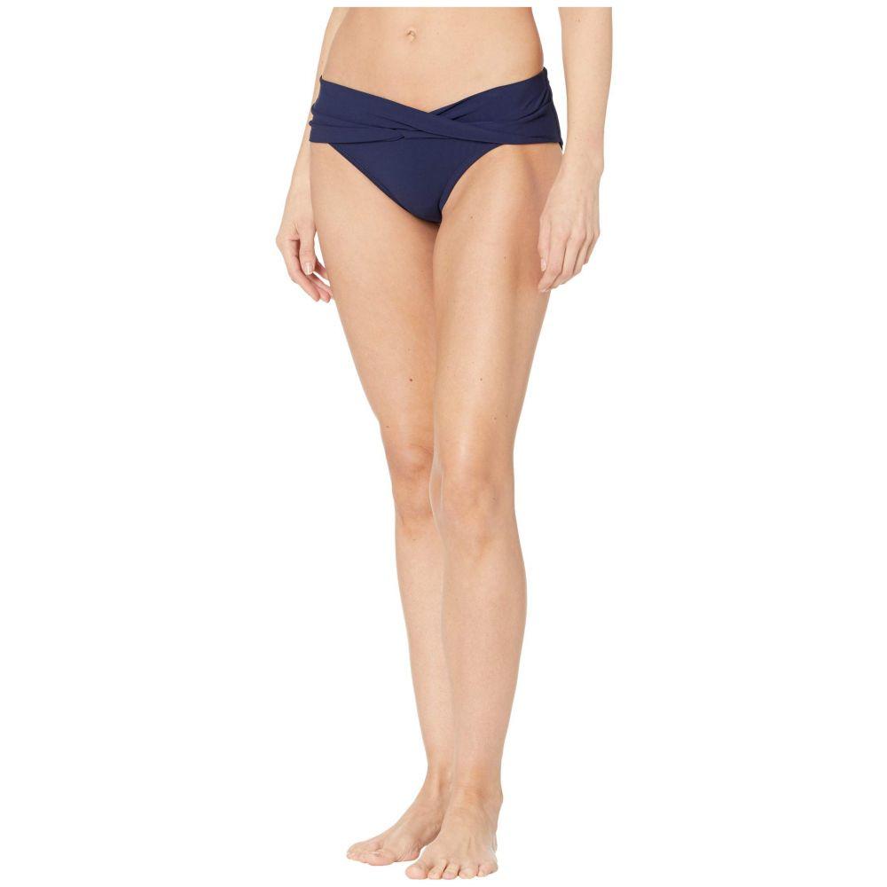 ロビンピッコーネ Robin Piccone レディース ボトムのみ 水着・ビーチウェア【Ava Twist Bikini Bottom】Navy