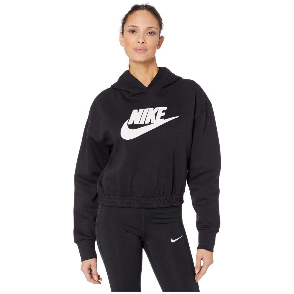 ナイキ Nike レディース フリース トップス【NSW Icon Clash Fleece Hoodie】Black