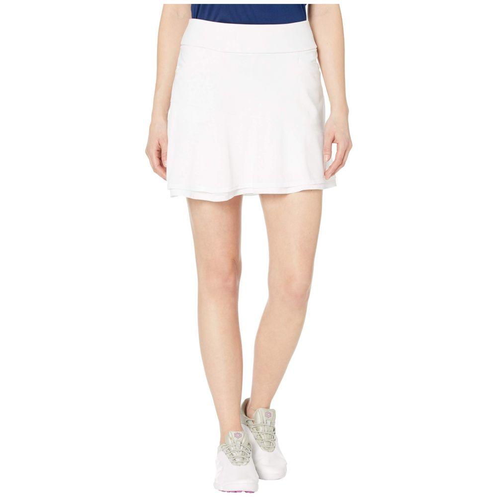 アディダス adidas Golf レディース ミニスカート スコート スカート【Ultimate365 Knit Frill Skort】White
