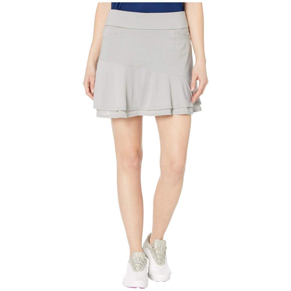 アディダス adidas Golf レディース ミニスカート スコート スカート【Ultimate365 Knit Frill Skort】Medium Solid Grey