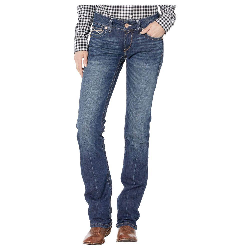 アリアト Ariat レディース ジーンズ・デニム ボトムス・パンツ【R.E.A.L.(TM) Straight Rookie Jeans in Pacific】Pacific