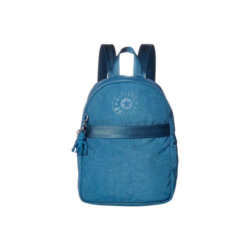 キプリング Kipling レディース バックパック・リュック バッグ【Imer Small Backpack】Mystic Blue FC