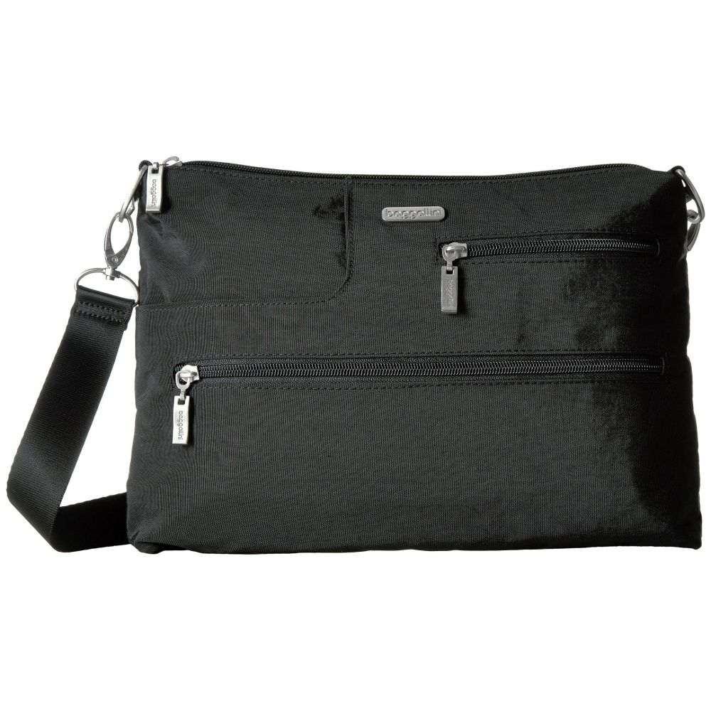 バッガリーニ Baggallini レディース ショルダーバッグ バッグ【Legacy Tablet Crossbody】Black With Sand Lining