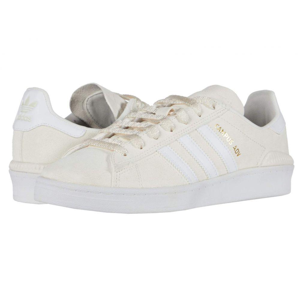 アディダス adidas Skateboarding レディース シューズ・靴 【Campus ADV】Supplier Colour/Footwear White/Gold Metallic