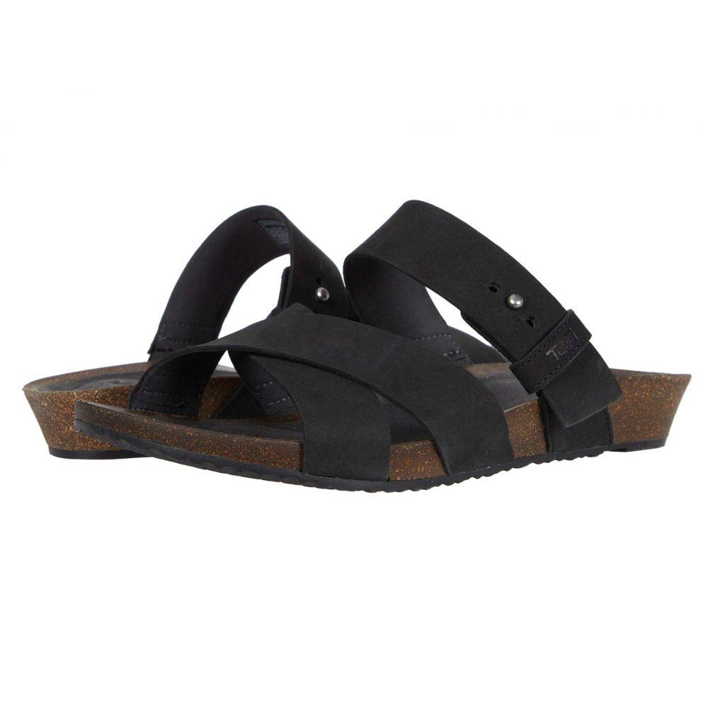 テバ Teva レディース サンダル・ミュール シューズ・靴【Mahonia Slide】Black