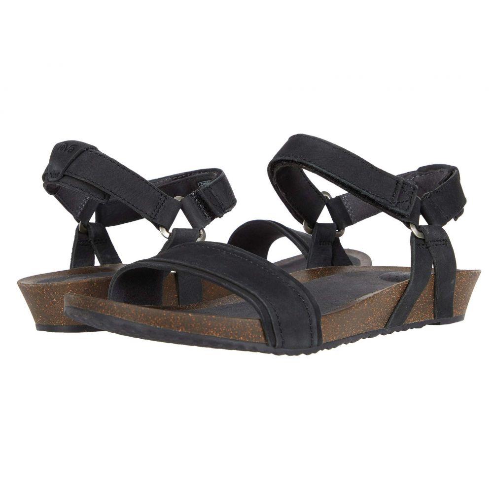 テバ Teva レディース サンダル・ミュール シューズ・靴【Mahonia Stitch】Black