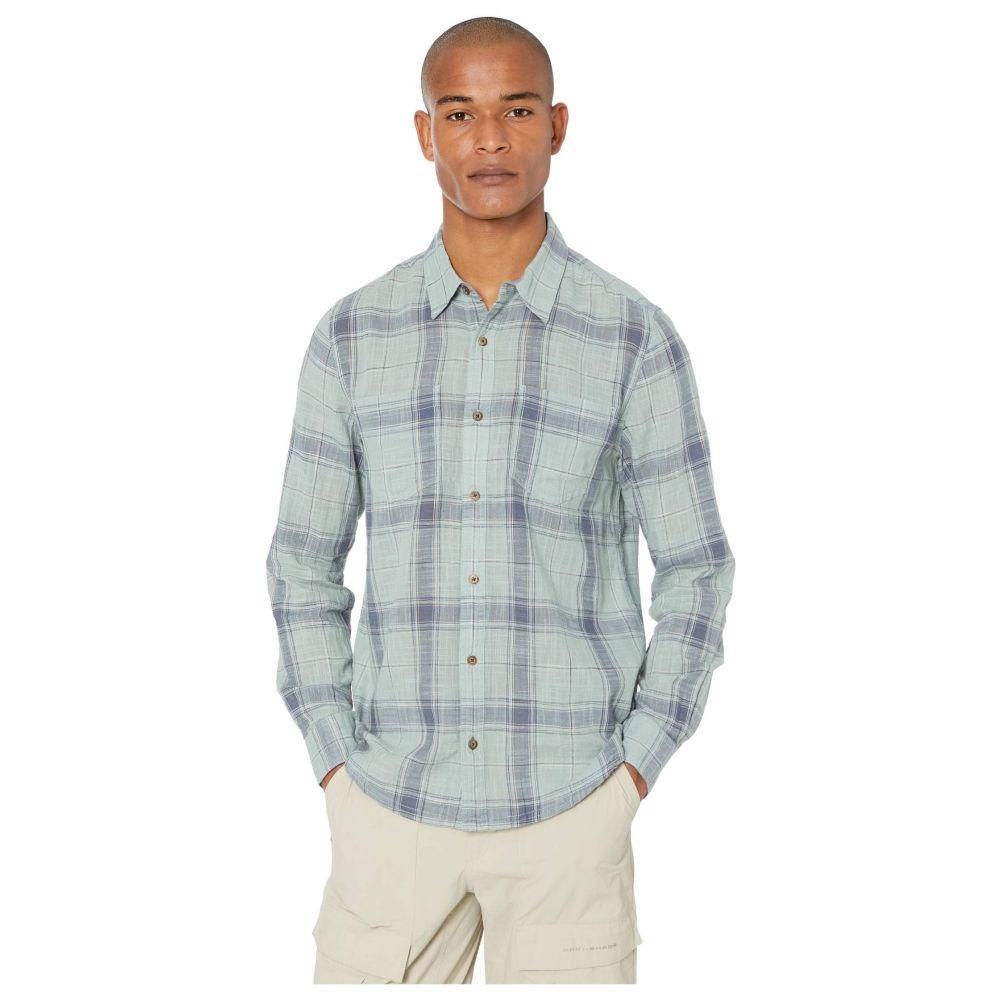 トードアンドコー Toad&Co メンズ シャツ トップス【Salton Long Sleeve Shirt】Blue Surf