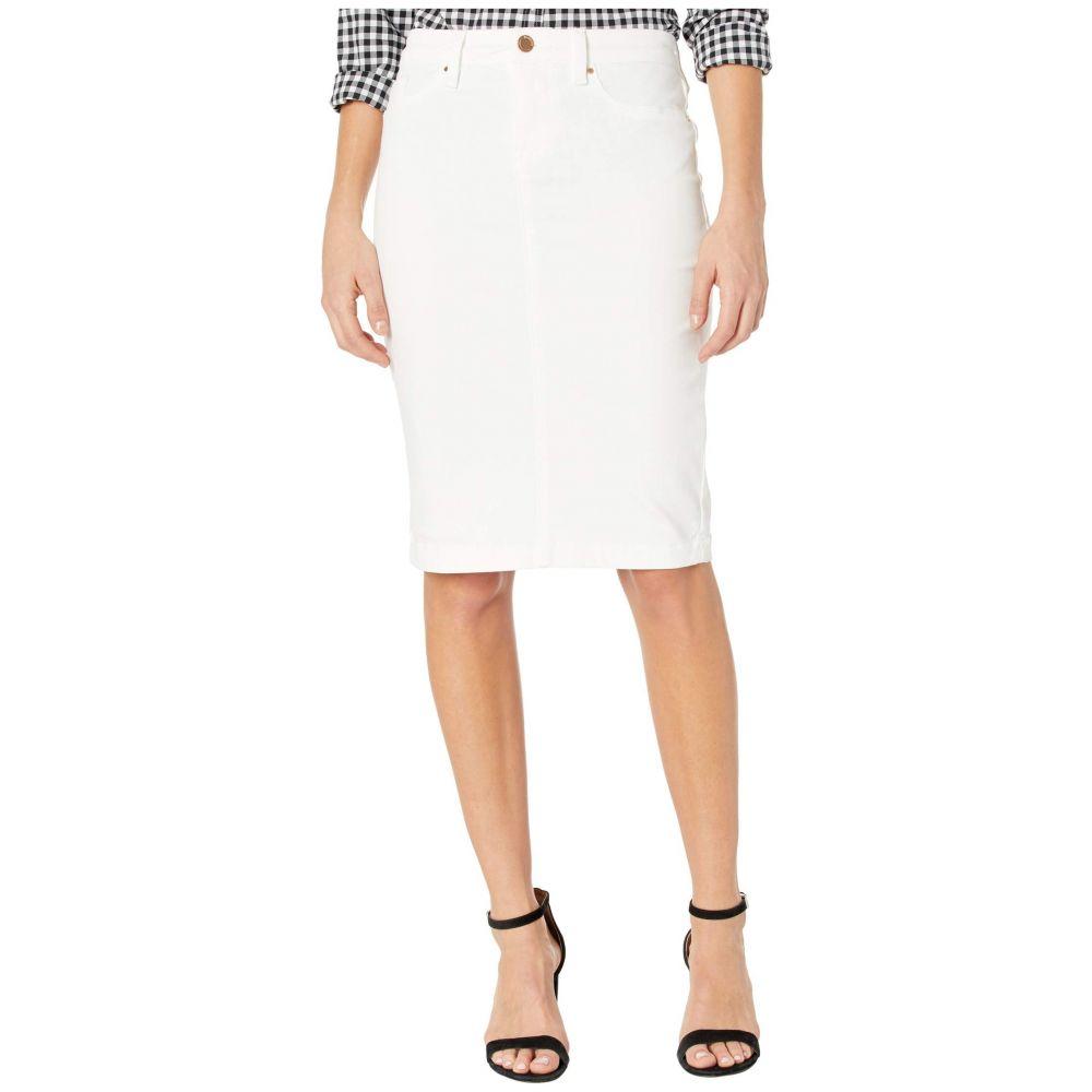 ブランクニューヨーク Blank NYC レディース スカート デニム ペンシルスカート【Denim Pencil Skirt in Great White】Great White