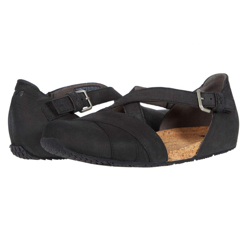 テバ Teva レディース スリッポン・フラット シューズ・靴【Mahonia Mary Jane】Black
