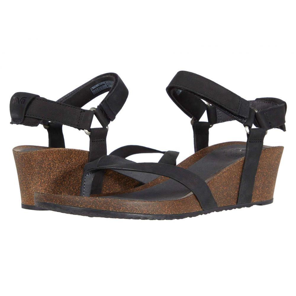 テバ Teva レディース サンダル・ミュール ウェッジソール シューズ・靴【Mahonia Wedge Thong】Black