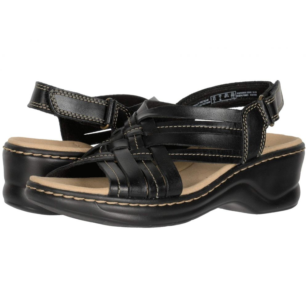 クラークス Clarks レディース サンダル・ミュール シューズ・靴【Lexi Carmen】Black Leather