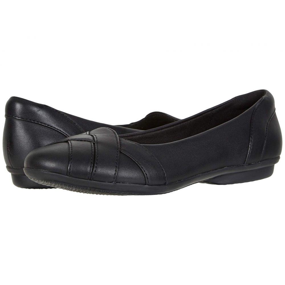 クラークス Clarks レディース スリッポン・フラット シューズ・靴【Gracelin Mia】Black Leather