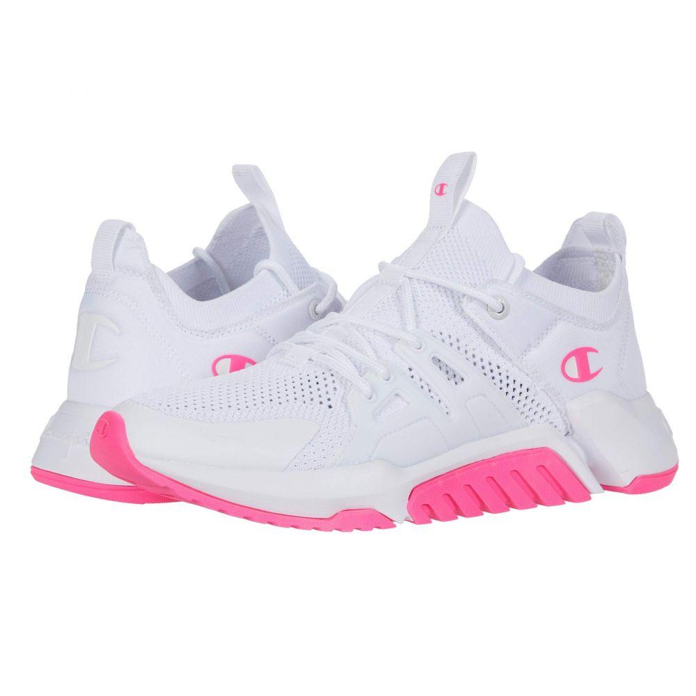 チャンピオン Champion レディース スニーカー シューズ・靴【D1】White/B.Pink