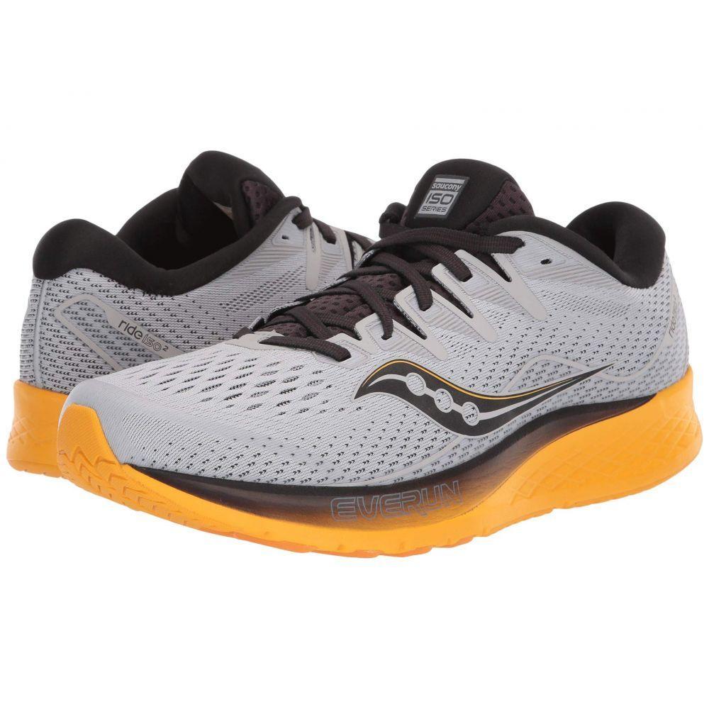 サッカニー Saucony メンズ ランニング・ウォーキング シューズ・靴【Ride ISO 2】Grey/Yellow
